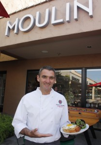 Owner and Chef Laurent at Moulin