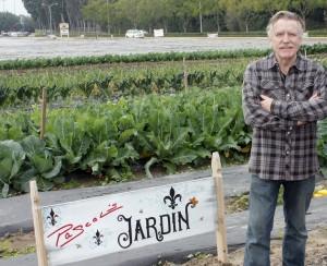 """Chef Pascal at his """"garden"""""""