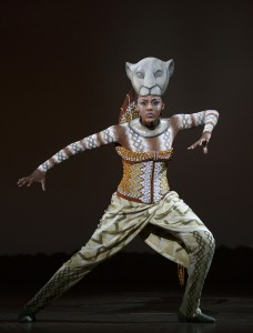 Nia Holloway as Nala in THE LION KING National Tour. Photo Credit Joan Marcus.