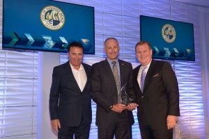 Newport Beach City Manager Dave Kiff was honored for his contributions to the tourism industry with the esteemed Partner in Progress Award.