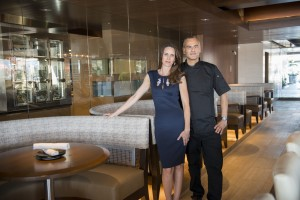 General Manager Kenyon Paar and Chef Phil Kastel – Photo Credit Anne Watson