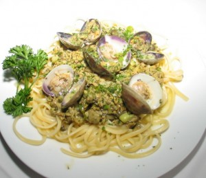 A signature pasta dish at Amelia's