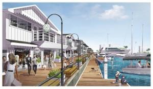Rendering of Lido Marina Village
