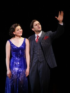 """Caitlin Ehlinger and Matthew J. Taylor in """"42nd Street"""""""