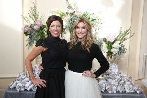 Luncheon chairs Colleen Masterson of Newport Coast and Tiffanie Foster of Newport Beach
