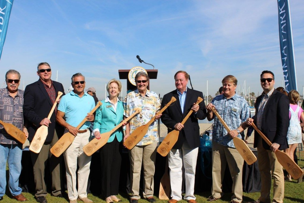City Council and Parks, Beaches, and Recreation Commissioners — Photo courtesy the city of Newport Beach