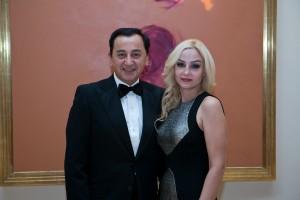 Co-chairs Fariborz and Azam Maseeh