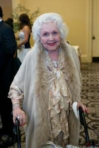 Hoag's long-time volunteer and supporter Nora Jorgensen Johnson