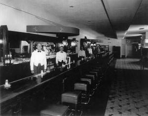 Stag Bar circa 1930s