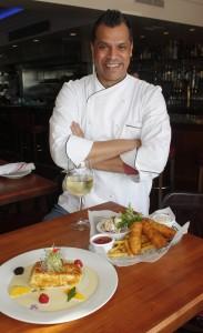 Chef Julio Hawkins of Fly 'N' Fish Oyster Bar