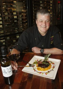 Chef Yvon Goetz of the Winery Restaurant and Wine Bar