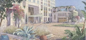An artist rendering of Museum House. — Courtesy Related California Urban Housing LLC ©