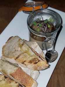 White truffle-wild mushroom mousse