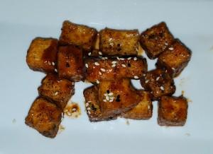 Barbecued tofu