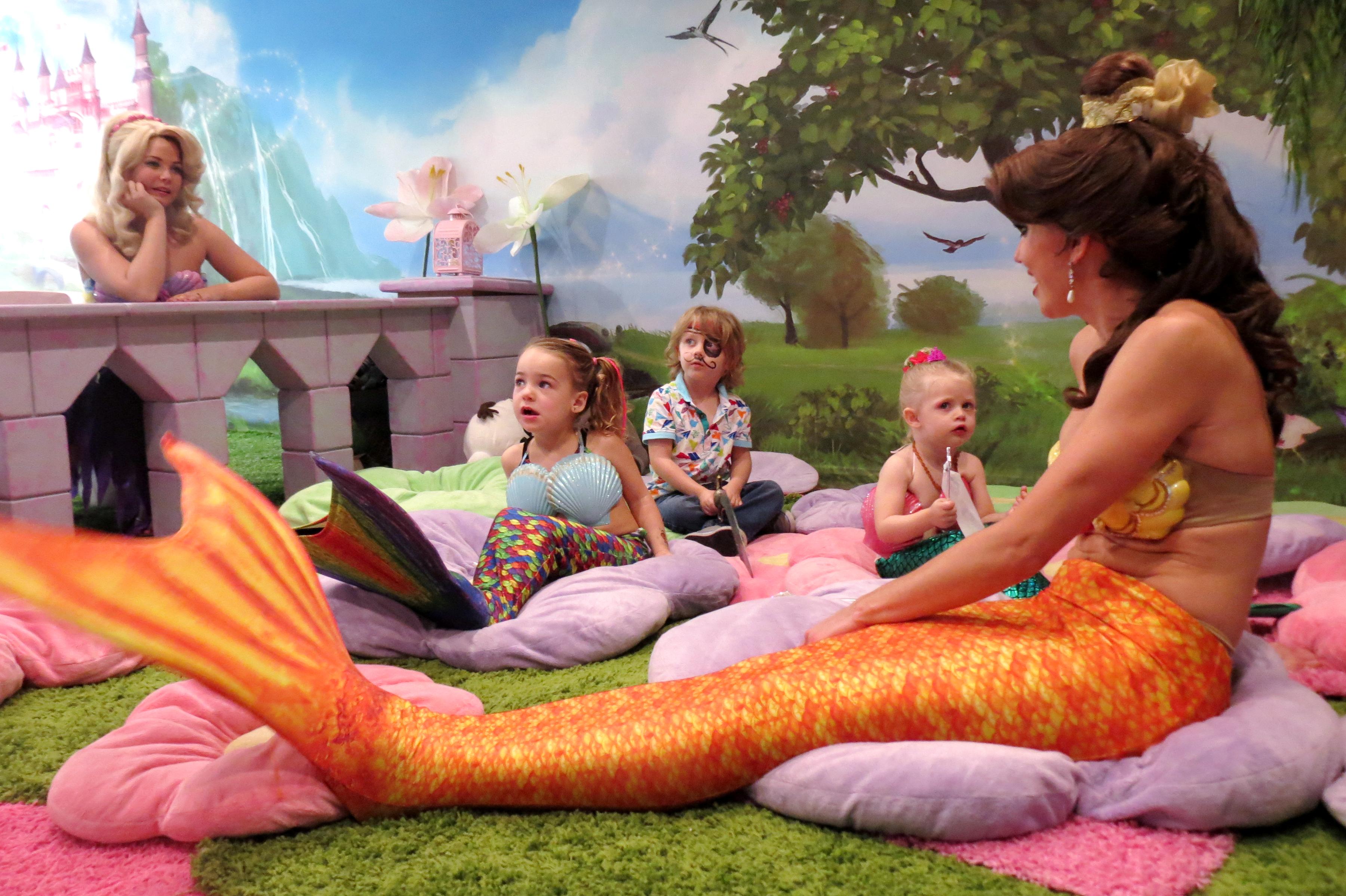newport local news magic with mermaids on balboa island newport