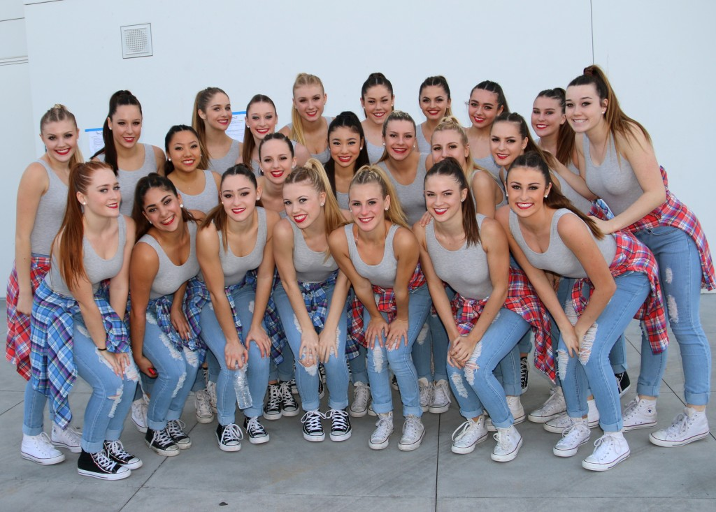 Members of the CdM Orchesis Dance Company include (left to right) (front row)Aidan Purdy, Kendall Kurzweil, Alexa Neiger, Grace Axelson, Kelly Hesp, Camille Vance, Brie Taylor; (second row) Nicole Goon, Maddie Lefebvre, Taylor Chen, Gwyn Tanner, Justine Kaneda, Simona Ruljevas, Sophie Axelson, Megan Eusey, Kenzie Veal; and (third row) Kelly Griffin, Hannah Shaw, Lisa Cordes, Madalyn Risser, Ava Antoyan, Anna Steelberg, and Kenzie Gladych. — Photo courtesy of CdM Orchesis Dance Company ©