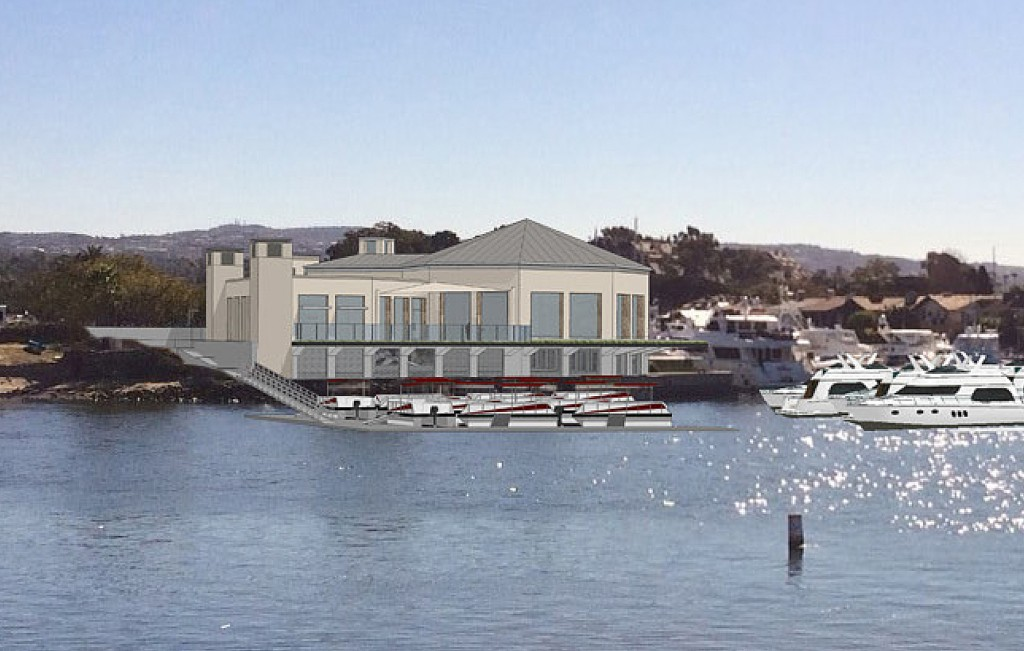 An artist's rendering of Marina West Restaurant. — Photo courtesy of the city of Newport Beach ©