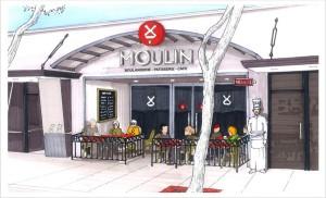 Rendering of Moulin in Laguna Beach
