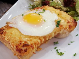 Croque Madame at Moulin