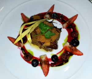 Foie gras appetizer