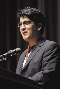 Author Sherman Alexie