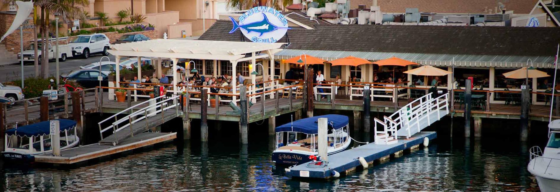 The Blue Water Grill Newport Beach