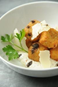 Mushroom croquettes at Fig & Olive