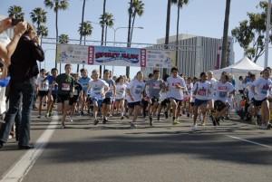 Participants at a previous Spirit Run. — NB Indy file photo ©
