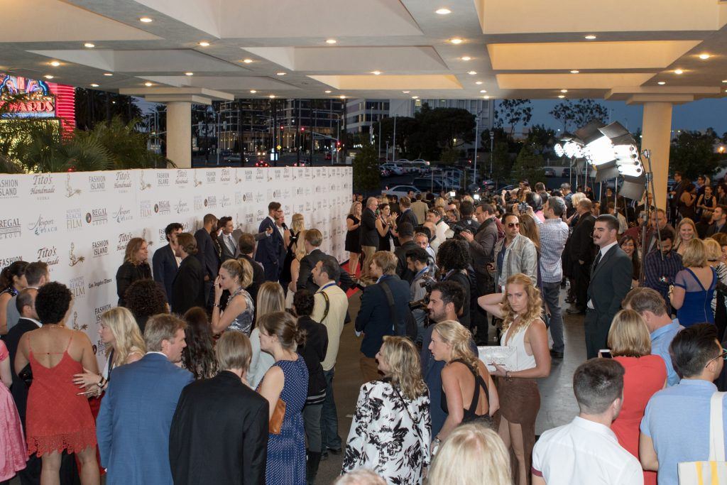 Opening night red carpet (photo by Jim Collins)