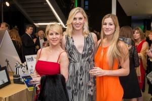 Liz Paris, Charlotte Gadbois, Miranda Estrella