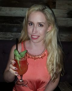 Catherine and her Monkey Business cocktail