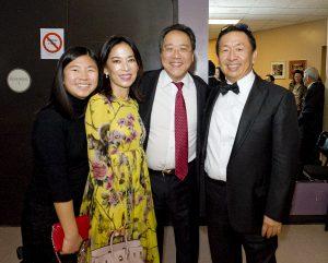 Celine Wang, Sakura Wang, Yo-Yo Ma, William Wang