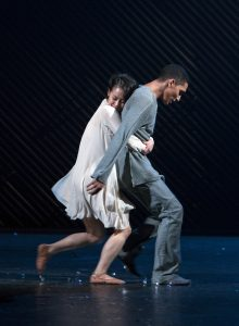 Royal Swedish Ballet Juliet and Romeo - Mariko Kida as Julia and Anthony Lomuljo as Romeo / Photo Gert-Weigelt