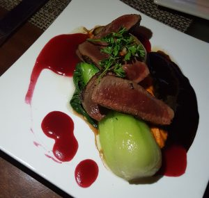 Venison at Bayside