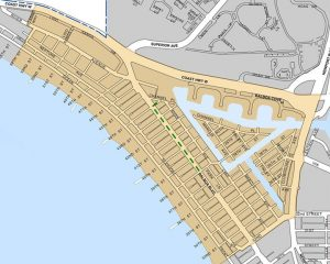 Balboa Peninsula safety zone on July 4