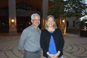Pastor Mark Davis, Rabbi Marcia Tilchin