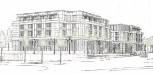 An artist rendering of 150 Newport Center. — Courtesy city of Newport Beach ©