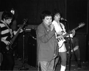 The Go-Go's at The Whiskey, circa 1978/79 (photo by Chris Trela)