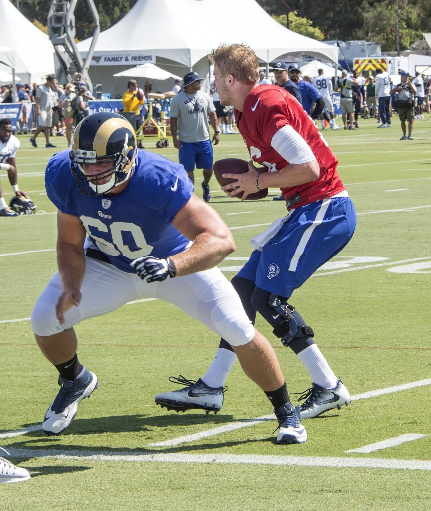 KushGoff1 rams training camp
