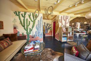 Interior of the Faherty Malibu store