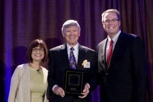 Dr. Sandra Morgan, Ed Arnold, Michael J. Beals