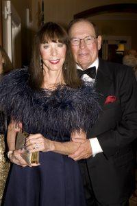 2015 honorary gala chairs Julia and George Argyros