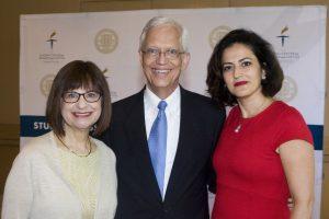 Dr. Sandra Morgan, Ernie Allen, Jasmine Shodja