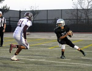 William Leong prepares to fire off a pass