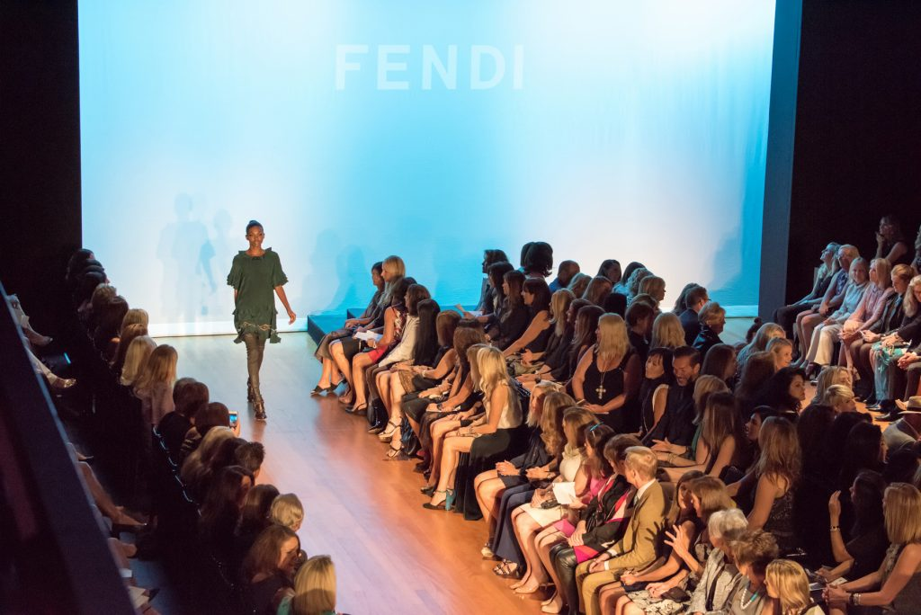 Fendi runway show during the Harvesters' 24th Annual Fashion Show & Luncheon