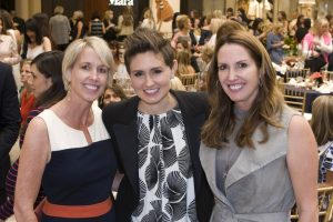 Natalie Pickup (Preview Day Co-Chair), Melissa Beck (CEO of Big Brothers Big Sisters of Orange County and the Inland Empire), Georgina Jacobson (Preview Day Co-Chair)