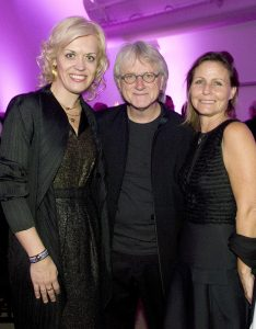 Pianist Olga Kerns with Pacific Symphony Music Director Carl St. Clair and Susan St. Clair.