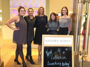 Kendra Scott staff: Sarah McCrackin. Danley Shimasaki, Lauryn Greenstone, Clare Doolin, Montana Morrison