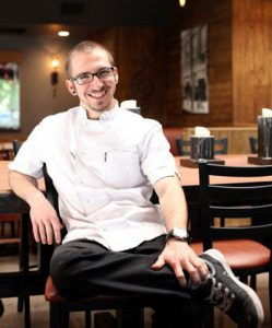 Chef Zach Geerson is participating in Taste of Math