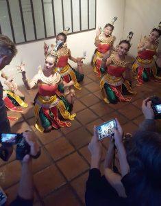Thai dancers performing
